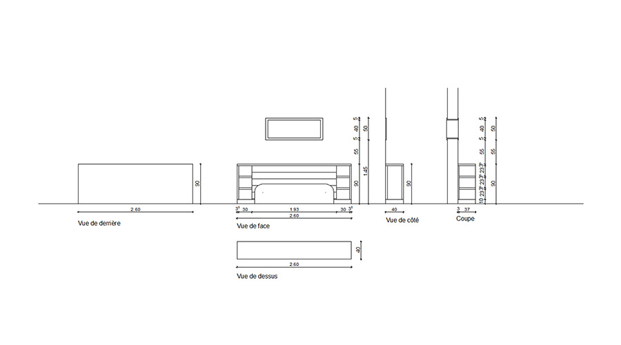 plan mobilier